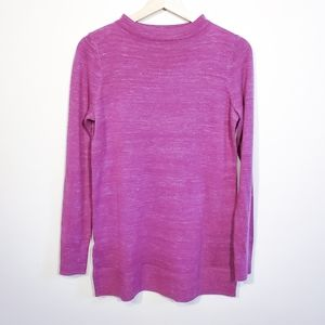 LOFT Mock Neck Sweater Purple - Size XS  NWOT